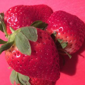 Amazing Pink Strawberry Cream Cheese Icing