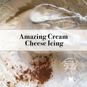 Amazing Cream Cheese Icing