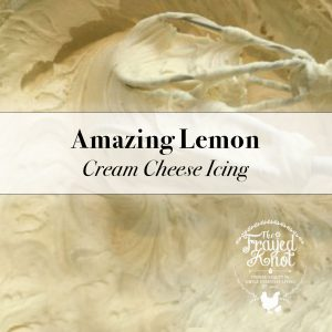 Amazing Lemon Cream Cheese Icing