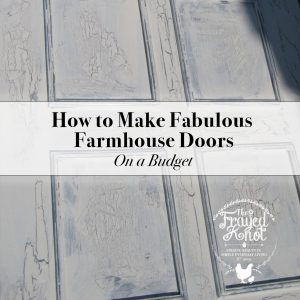 Fabulous Farm House Doors on a Budget