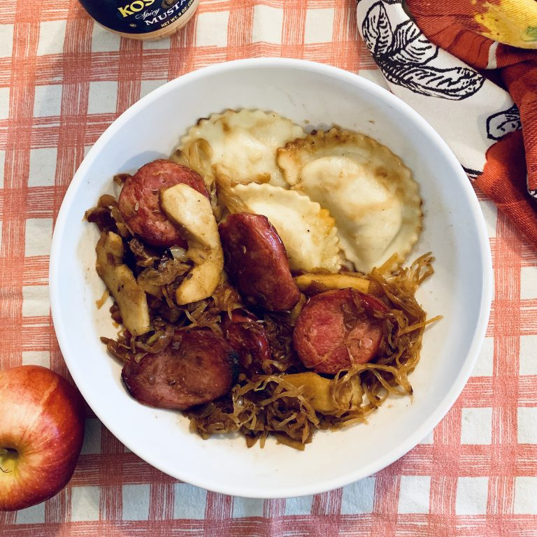 One Pot Kielbasa & Apples